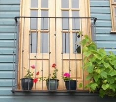 A Juliet balcony that I made about 5 years ago for my mum.