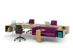 Bivi workstation - collaborative spaces