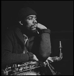 """mosaicrecords: Eric Dolphy – Classic Down Beat Archives From the Down Beat archives comes this 1964 tribute to the iconic reedman Eric Dolphy, who died suddenly earlier that year in Germany: I was in the audience at the Newport Jazz Festival when Max Roach announced his death before launching into his """"We Insist: Freedom Now Suite."""" It was a sad day for the music. -Michael Cuscuna Read Article… Follow: Mosaic Records Facebook Tumblr"""