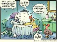 İyi haftalar! :)  #ErdilYaşaroğlu #karikatür