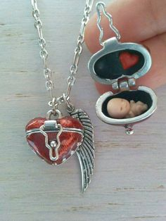 Preborn baby remembrance charm to memorialize an unborn child brittany capanos custom order aloadofball Choice Image