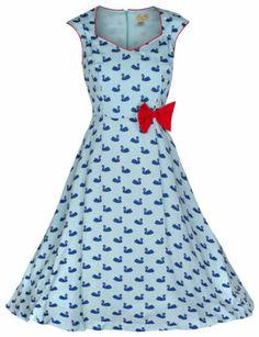 Lindy Bop swan dress  #rockabilly