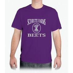 Adult Schrute Farms Beets Shirt - Mens T-Shirt