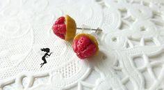 Puces d'oreilles tartelettes aux fraises en par LaFeeGourmande