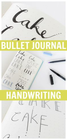 I get a lot of questions about my handwriting whenever I post a bullet journal video....here are the QUICK & EASY techniques I use to take my simple handwriting to the next level!
