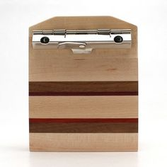 Mini Maple Striped Clipboard-3x4