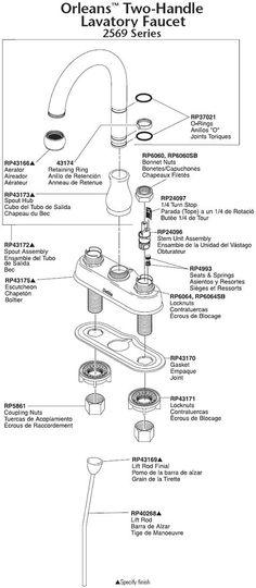 Faucet Ratings: Faucet PartsClick To Enlarge U2014