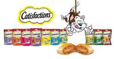 Nel carrello di Chicca: Catisfactions, deliziosi snack per gli amici gatti...