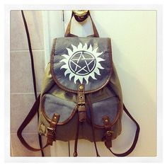SALE Supernatural Hunter's Bag ❤ liked on Polyvore featuring bags, handbags and supernatural