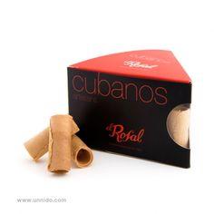 """También los menos """"chocolateros"""" disfrutarán esta #Navidad con los barquillos """"cubanos"""" de #Unnido.  Descubre nuestros cubanos. Un manjar artesanal elaborado con ingredientes de proximidad, sin conservantes, ni colorantes. Con su textura crujiente y su dulce aroma es un producto elaborado de forma #artesanal por personas con #discapacidad. Estos productos mantienen viva la tradición artesana más pura.  Disponibles: https://www.unnido.com/caja-de-barquillos-cubanos.html"""