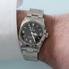 Rolex Explorer I Ref. 1016 R Series Matte Dial (1987)