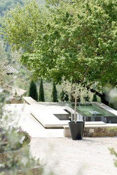 Outdoor Spa, Outdoor Gardens, Outdoor Living, Outdoor Decor, Indoor Outdoor, Landscape Architecture, Landscape Design, Garden Design, House Design