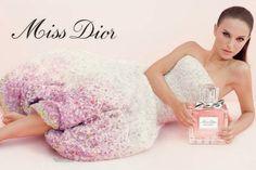 Bastidores da campanha do perfume Miss Dior, com Natalie Portman.