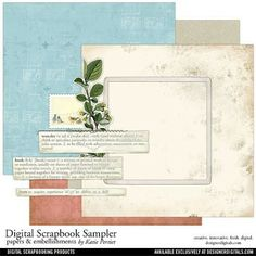 Free digital scrapbooking kit by Katie Pertiet and class by Joey Manwarren (CK Dream Team member) for Creating Keepsakes magazine. #scrapbook #digitalscrapbook #scrapbooking #digitalscrapbooking #digiscrap #creatingkeepsakes
