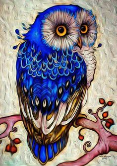 This beautiful fancy owl in a top hat makes an absolutely gorgeous diamond painting. If you're new to the craft, or want to learn more, check out our page on diamond painting here. Animal Drawings, Art Drawings, Colorful Drawings, Tattoo Drawings, Owl Artwork, Owl Wallpaper, Owl Pictures, Beautiful Owl, Owl Crafts