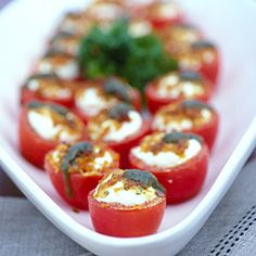 Simple Summer Appetizers | Romas and Goats | CoastalLiving.com