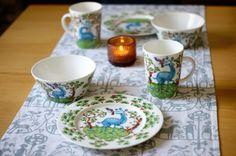 iittala Satumetsä -Set 6 pcs : buckの気ままなblog。 Finland, Tableware, Tablewares, Corning Glass, Dinnerware, Place Settings
