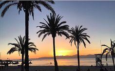 sunset. El Arenal, Mallorca