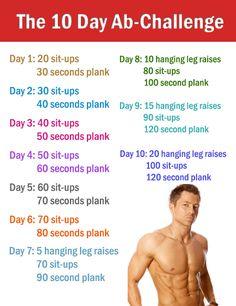 10 Day Ab Challenge