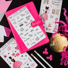 Oh So Busy black and white planner stickers are great to keep track of all the things you have going on through out the week.