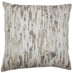 Xanti Graphic Pillow Alabaster
