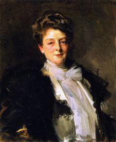 The Athenaeum - Mrs. J. William White (John Singer Sargent - )  1903