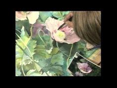 ▶ Nancy Tichborne teaches Watercolours Part 1 - YouTube
