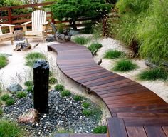 awesome wood walkway