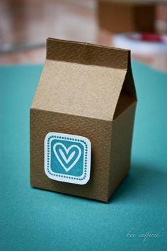 Cómo hacer una caja de cartón reciclado - IMujer