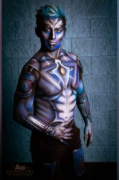 Body Painting +Airbrushing by makeup artist, Dorota Buczel for Kett Cosmetics @ IMATS Toronto 2014  #makeupartist #makeup #artist #toronto #blue #alien #prosthetics #fx  #airbrush #airbrushing  #airbrushmakeup #bodypainting #bodypainter #face #paint #art #studiolife #kettcosmetics #hydroproof #mobile  #services @IMATS #EddyCalle