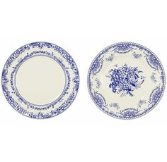 Save your fine china and use these porcelain inspired paper plates for larger gatherings.  8 x paper plates in 2 designs. Size: 27cm diameter