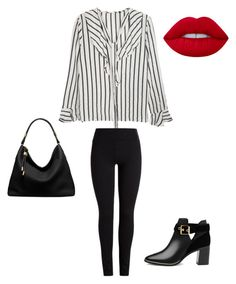 """""""Sin título #35"""" by camila-radino on Polyvore featuring moda, Ted Baker, Michael Kors y Lime Crime"""
