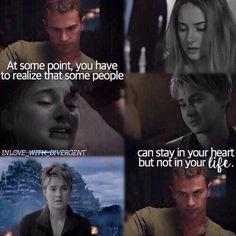 Allegiant Quotes, Divergent Memes, Divergent Hunger Games, Divergent Fandom, Divergent Trilogy, Divergent Insurgent Allegiant, Tris And Four, Veronica Roth, Sad Stories