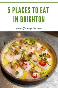 A short food guide of 5 must-visit restaurants when in Brighton, covering both casual and fine dining without the formality. Brighton Restaurants, Casual Restaurants, Brighton England, Places To Eat, Fine Dining, Street Food, Cheeseburger Chowder, I Foods, Curry