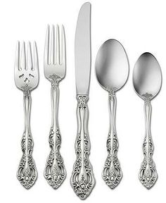 Set the scene for elegance this Thanksgiving with meticulously detailed flatware