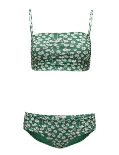 Ganni Lyme Swimwear