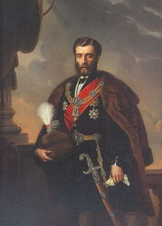 Mihailo Obrenovi Serbian Mihajlo Obrenovi September 16 1823 June 10 1868 was Prince of Serbia from 1839 to 1842 and again from 1860 to 1868 His fir Serbia And Montenegro, National History, Belgrade Serbia, Historical Art, Serbian, My Heritage, History Facts, King Queen, Ancient History