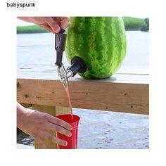 Watermelon Keg Tapping Kit Tap Kegerator Co2 Fruit Party Beer Wine Shot Cooler