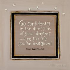 Go Confidently Prints by Karen Tribett at AllPosters.com