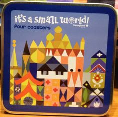 Disneyland Resort It's a Small World 4 Pc. Coaster Set - Disney Parks Exclusive & Limited Availability by Disney. $30.00. Add color to your decor with these colorful coasters brought to you exclusively from Disney Theme Parks. Save 23% Off!