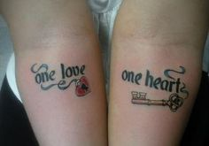 35 Couple Tattoos for Couples Who Want to Express Their Eternal Love 35 Paar Tattoos – Eine Liebe, ein Herz Paar Tattoos. Tribal Tattoos, Key Tattoos, Trendy Tattoos, Love Tattoos, Skull Tattoos, Tatoos, Married Couple Tattoos, Couple Tattoos Love, Couple Tattoo Quotes