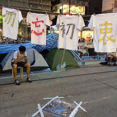勿。忘。初。衷 銅鑼灣@2014.10.25 Hong Kong Umbrella movement