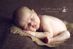 Burlap, newborn photography prop fabric