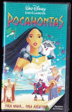 POCAHONTAS PURA MAGIA...PURA AVENTURA--WALT DISNEY--VHS (Cine en VHS - Infantil)
