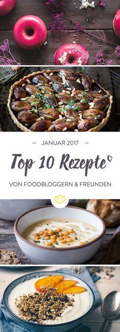 Unser Vorsatz fürs neue Jahr: Sich jeden Tag etwas Gutes gönnen. Zum Beispiel mit gutem Essen. Kuchen, Suppe, Frühstück - 10 Ideen für deine Januarliste!