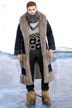 I would totally wear this if I was ever forced to go ice fishing or camping or something awful.