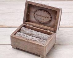 Wedding Ring Box Wedding Ring Holder Ring by InesesWeddingGallery