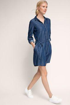 #Cooles dunkelblaues #Kleid aus #Jeans von #Esprit. ♥ ab 59,99 €