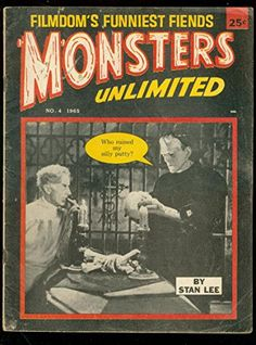 MONSTERS UNLIMITED #4 1965-STAN LEE-FRANKENSTEIN-HORROR VG @ niftywarehouse.com #NiftyWarehouse #Frankenstein #Halloween #Horror #HorrorMovies #ClassicHorror #Movies