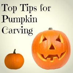Top Tips for Pumpkin Carving